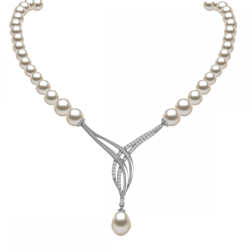 Perla 18k DIAMOND Necklace (D0.33)