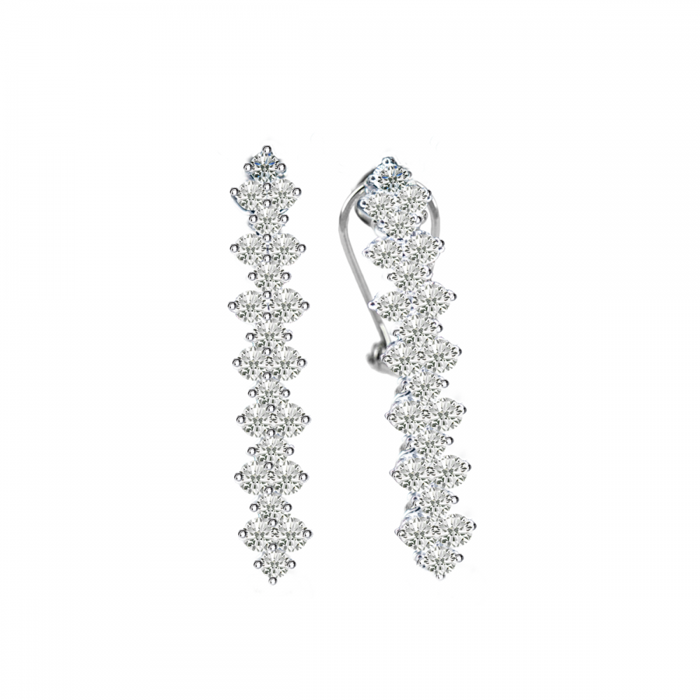 Princess DIAMOND Earring (D1.94)