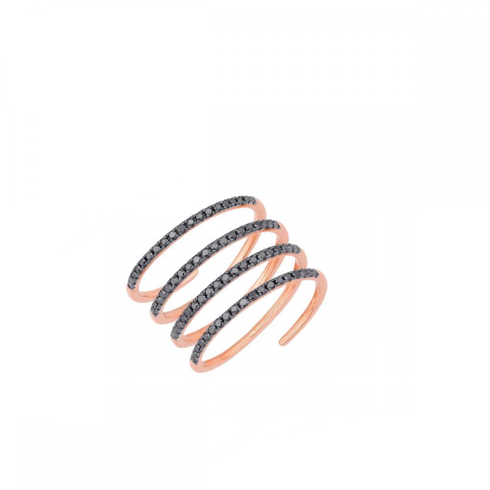 18K DIAMOND CUTIES RING  (D:0.52)