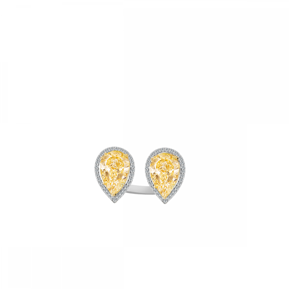 SUNSHINE 18K GOLD RING (D:0.45)